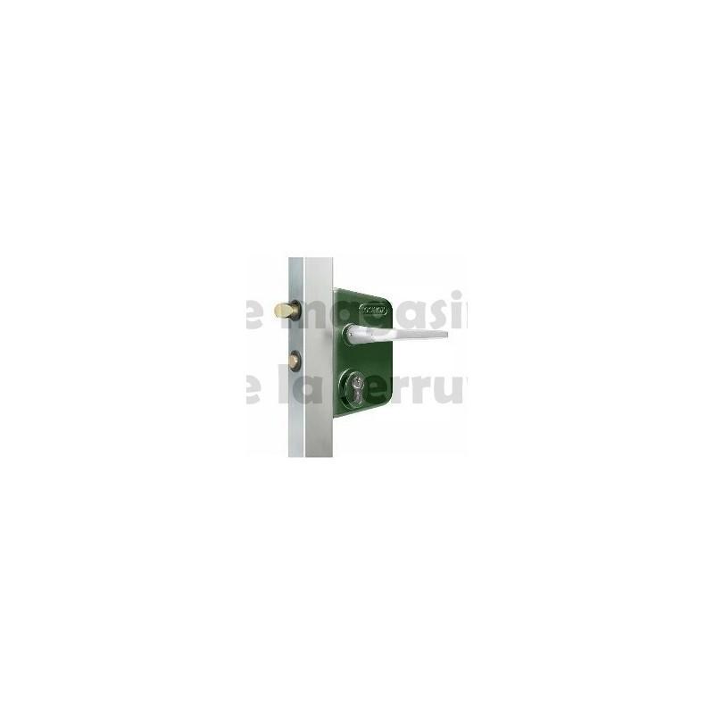 Serrure portail LOCINOX LC40 verte