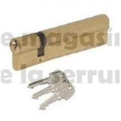 Cylindre européen TESA TE5 30X70 laiton
