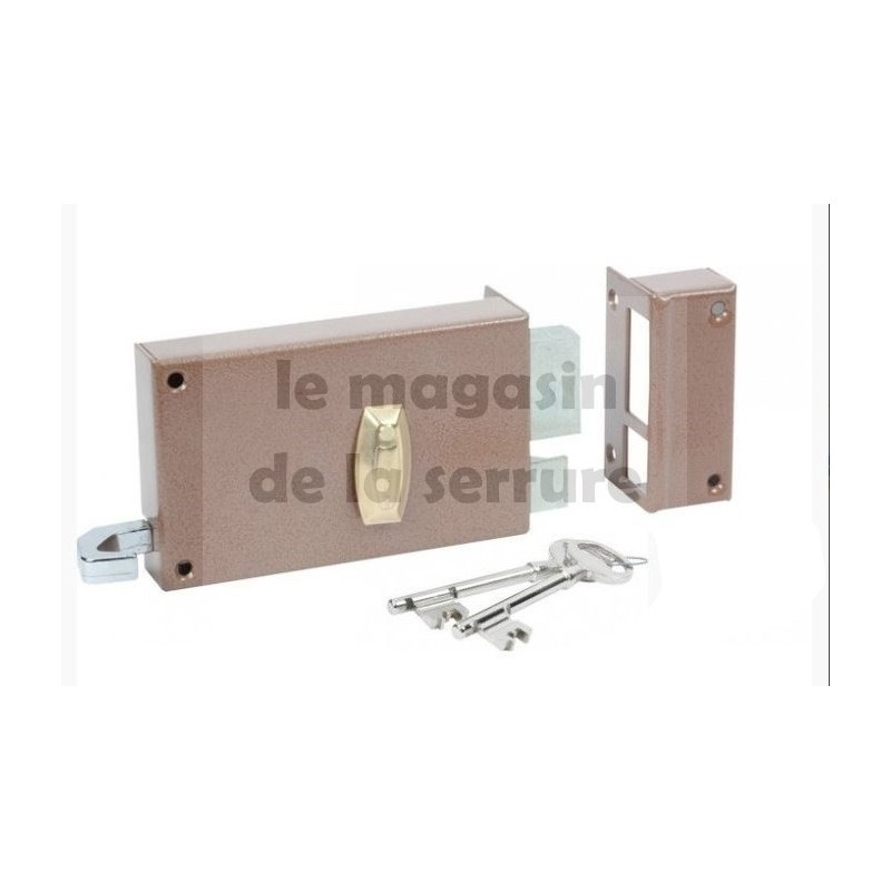 Serrure BRICARD 310010 horizontale tirage à gorges