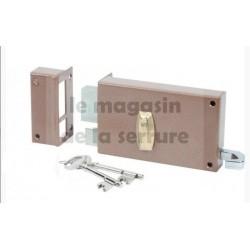Serrure BRICARD 310011 horizontale tirage à gorges