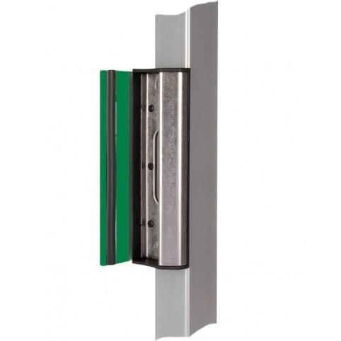 Gache butée verte 6005 profil carré pour serrure LOCINOX