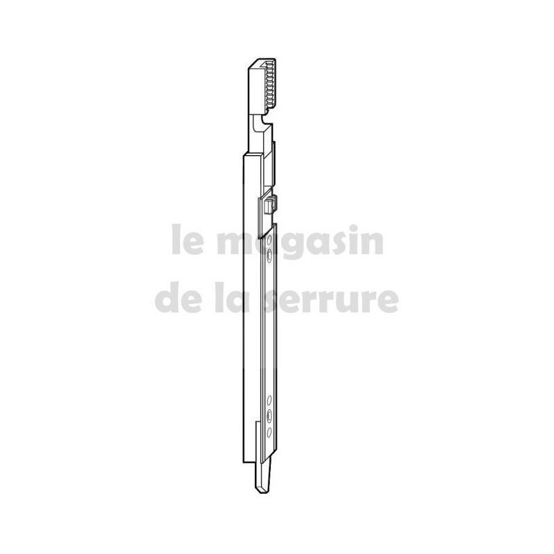 120332 Verrou bas inverseur sortie 11mm ROTO avec plaquette