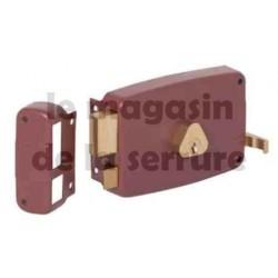 5012160 axe 60 Serrure  horizontale tirage CISA