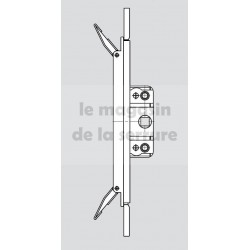 387923 Espagnolette centrale 20 ROTO