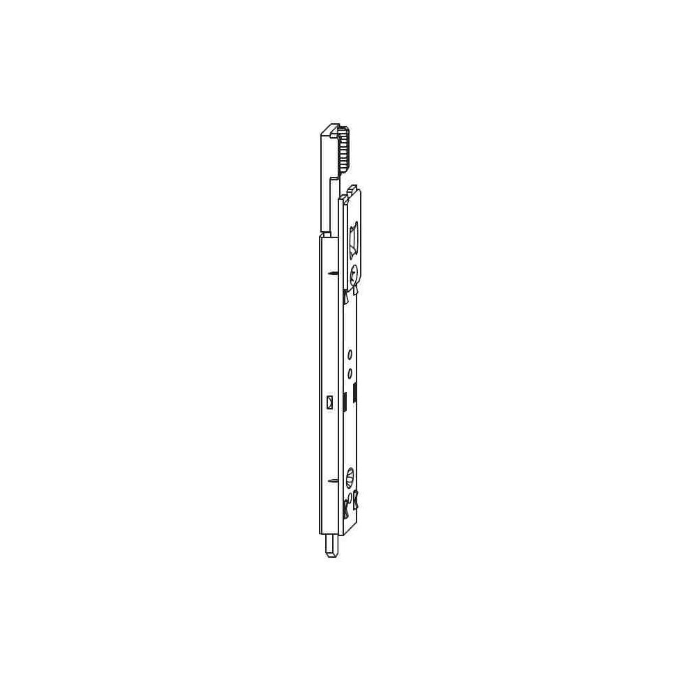TESC 3080 Verrou bas inverseur SI-AUBI