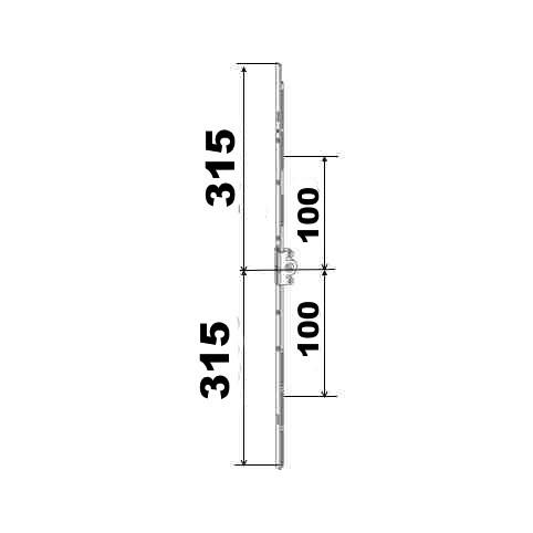 KIT 31/31 remplacement 23A0089 315x315 suivant dimensions ci dessous