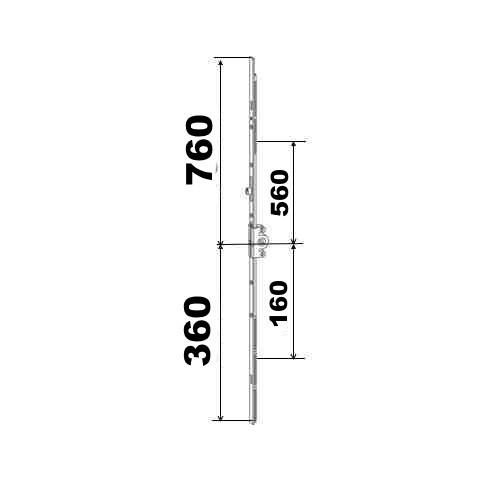 KIT 36/76 remplacement 23A0089 360x760  suivant dimensions ci dessous