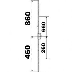 KIT 46/86 remplacement 23A0089 3GR 460x860  suivant dimensions ci dessous