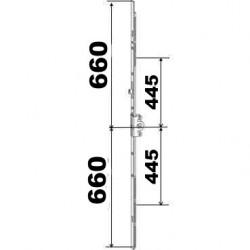 KIT 66/66 remplacement 23A0089 660x660 suivant dimensions ci dessous