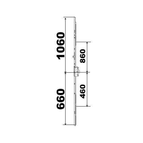 KIT 66/106 remplacement 23A0089 660x1060  suivant dimensions ci dessous