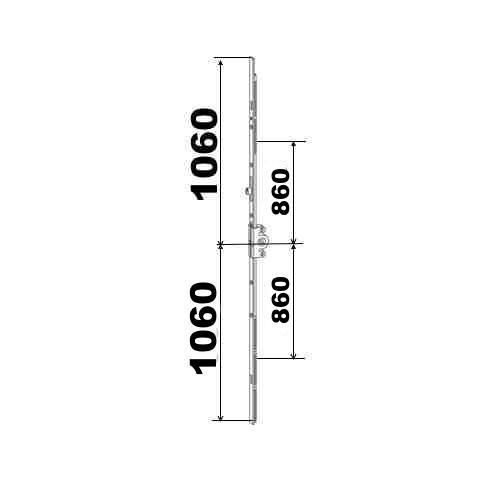 KIT 106/106 remplacement 23A0089 3GR4TL 1060x1060 suivant dimensions ci dessous