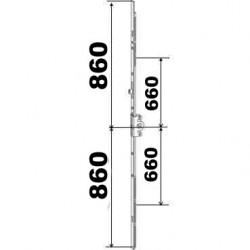 KIT 86/86 remplacement 23A0089 860x860 suivant dimensions ci dessous