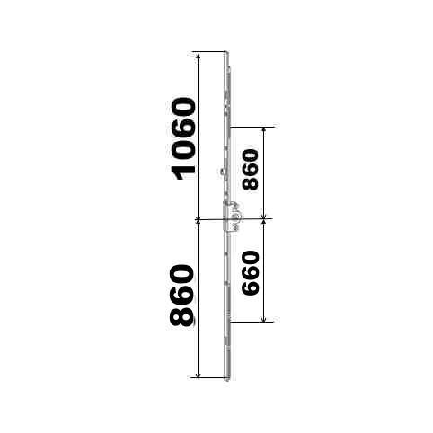 KIT 86/106 remplacement 23A0089 860x1060  suivant dimensions ci dessous
