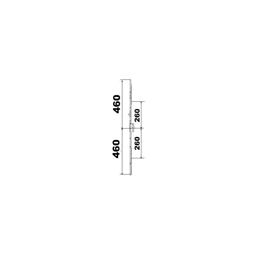 KIT 46/46 remplacement 23A0089 460x460 suivant dimensions ci dessous