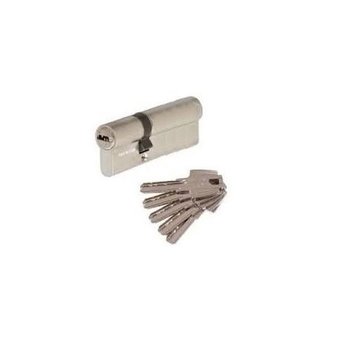 35X45 TE60 Cylindre sureté TESA laiton nickelé