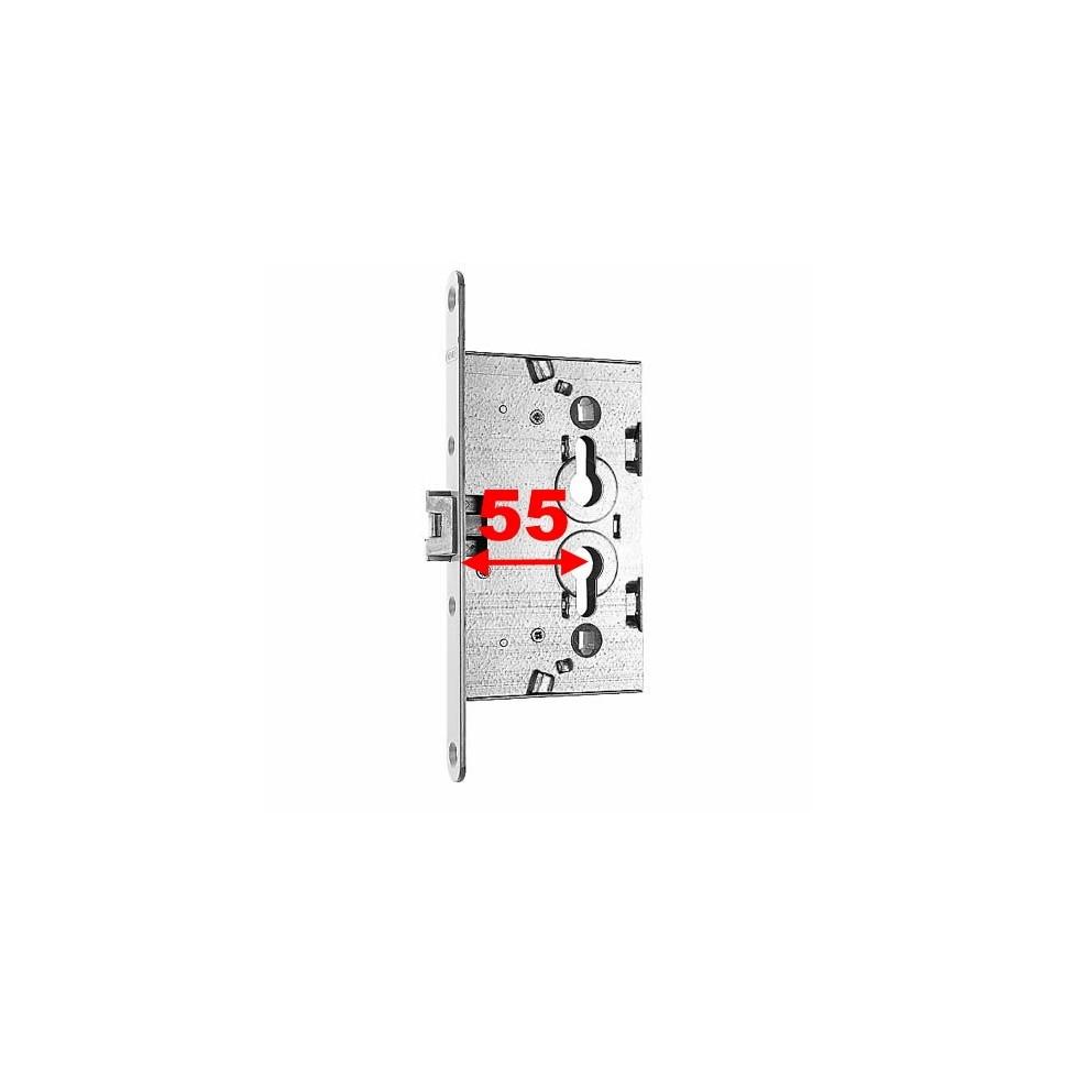 1759/02 en axe à 55 mm Serrure NEMEF