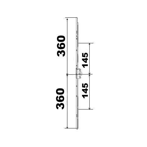 KIT 36/36 remplacement 23A0089 360x360 suivant dimensions ci dessous