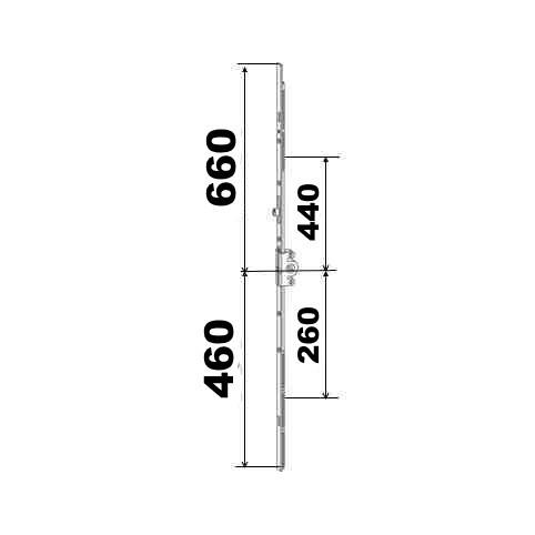 KIT 46/66 remplacement 23A0089 3GR 460x860